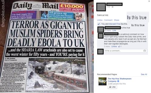 Giant Muslim Spiders Spreading Ebola